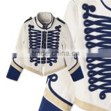 White Tone Embroidery Military Style Kids Army Jackets Kids Garments Children's Wear HSc5177