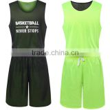 Customized mens Sublimated quick dry cheap sleeveless basketball single jersey , 100% polyester team sport jersey