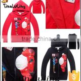 fashion 2015 boys zipper jackets new boys clothing wholesale children sweatshirts