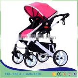 China baby stroller manufacturer 2017 new design high landscape and easy foldable baby pram /Baby Stroller 3 in 1