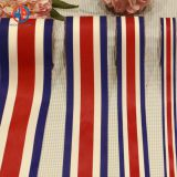 Custom striped satin ribbon