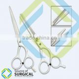 Attractive BeautifulHair thinning scissors set with shaving razor By Source Of Surgical
