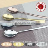 304 stainless steel coffeee spoon tableware/ daoq ice cream tea dessert spooon cultery /fancy dining tableware