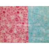 cotton flannel printed stock rayon printed stock