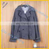 Wholesale Anti-Shrink 60% Cotton 40% Polyester Winter Lady Coat