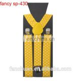 Adjustable Unisex Men Women Trouser Clip On Braces Suspenders Fancy Dress Cotton Pants Strap