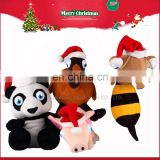 2017 Hot Selling Best Christmas Plush Toys Stuffed Animal Toys