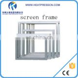screenprinting frames with aluminum for screen printing machine