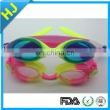 China wholesale myopia swimming goggle with high quality