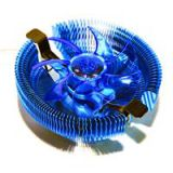 Pccooler Qingniao 4 Ultra-silent CPU Cooler Fan Temperature Controller With Blue Light Fan