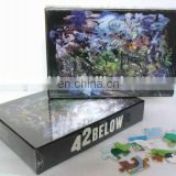cheap and custom printing paper jigsaw puzzle