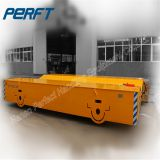 50 ton Battery Motorized Coil Transfer Cart/Battery Powered Factory Coils Material Transporter