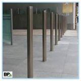Security steel pipe bollards