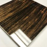 JOYWIN Ebony veneer Plywood wall Panel/High Gloss UV Plywood MDF/Cabinet Use UV Board 18mm