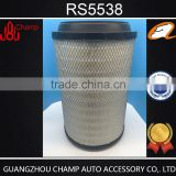 China manufacturer car parts air conditioning filter for car RS5538 in air filters production