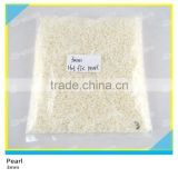 Half Round Pearl White Pearl Plastic 3mm 1 Bag Have 20000 Pcs