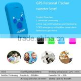 Small GPS kid tracker with free web tracking platform /Mobile APP/SMS, GPS tracker for kids