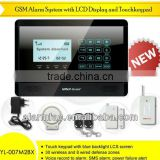 China Factory OEM/ODM GSM security wireless smart security alarm system YL-007M2BX wireless home gsm home burglar alarms