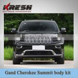 TEO material Summit body kit, summit front and rear bumper, Reshape your car from Laredo, Limited, Overland to Summit