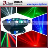 Wholesale beam moving head spider lighting 8x12w rgbw led stage light