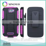 Heavy Duty Belt Clip Robot Case for Alcatel One Touch Fierce 2 OT7040T as Holster Kickstand Bumper Case