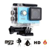 Original Good Quality A7 Action Camera 2inch Screen Waterproof Full Hd 720p Sports Dv Wireless