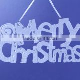 New Design merry Christmas hanging ornament with glass beads
