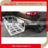 innovative car accessories online White aluminium car roof rack cargo carrier