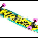 "2014 wholesale 40""*9"" 7-ply Bamboo low prices longboard skateboard with CE EN71 approved"