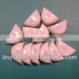 Toe caps composite material accessories in safety shoes