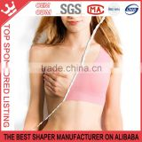 hot summer sexy lady's supports bra wireless yoga women running best seamless undewear shapewear W177