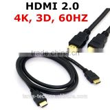 3D HDMI2.0 double ended hdmi cable 60HZ