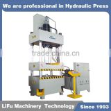 1600t YTD32 Four Columns Type Hydraulic Pressing Machine for steel deep drawing