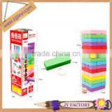 New design educational toy construction building wooden jenga custom blocks