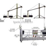 facade cleaning system / working platform / construction gondola / suspended platform