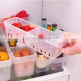 2015 NEW plastic rectangle DIY separate multifunction kitchen storage box stationery case cosmetics drawer storage box