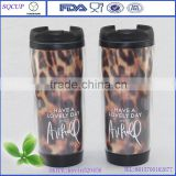 paper insert double wall cup,wholesale plastic cups,double wall plastic travel coffee mugs