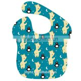Infants & Toddlers Age Group Oxford cloth material printed technics eco-friendly waterproof feeding baby bib