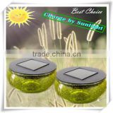 led garden line solar light mason jar solar light lids