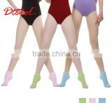 D004829 Dttrol designer dance non slip socks sport terry sock heat thermal bulk wholesale girl tube socks