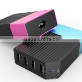 Private mould 32W 4 USB Port desktop power bank charger
