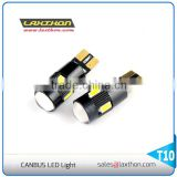 W5W 194 T10 6 pcs 5630 SMD canbus auto led light with lens projector                                                                         Quality Choice