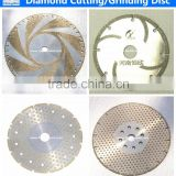 best price in china stone diamond cutting disc electroplated diamond cutting disc for stone