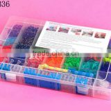 Wholesale Rubber Bands Fashion Rainbow Rubber Bands Kits