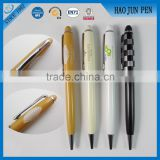 Promotional metal roller pen ball point pen high quality metal ball pens for business gifts