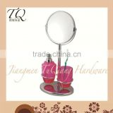 Cosmetic desktop mirror with bathroom set wedding gift decorative frame glass bathroom mirrors