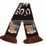 bob trading EUROPE market standard football fans Knitting scarf double knitting scarf pattern