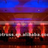 2015 China wholesale pipe and drape wedding stage backdrop decoration wedding stage decoration