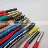 manufacturing various styles customized wholesale metal tips for shoelace,custom shoelace tips