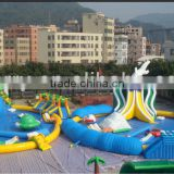 2013 new designed Thrilling Inflatable Water Park / Inflatable Water Sport